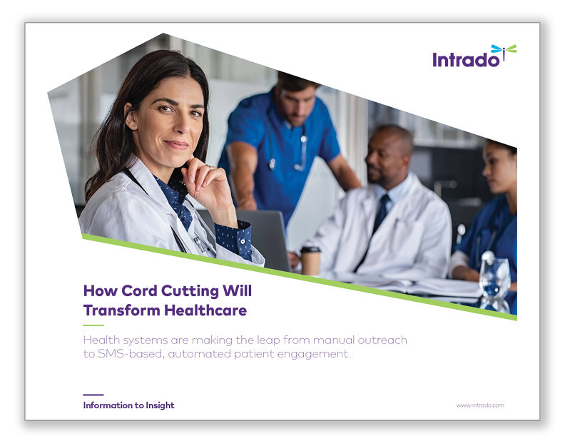 How Cutting the Cord will Transform Healthcare (Drop Shadows)